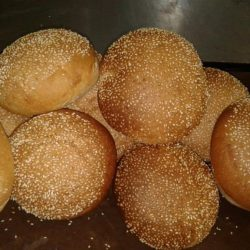 freshly-baked-hamburger-rolls-sesame